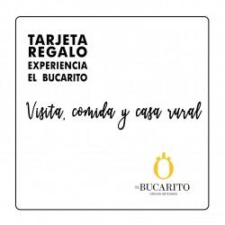 TARJETA REGALO VISITA, COMIDA Y CASA RURAL