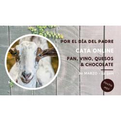 PAN, VINO, QUESOS Y CHOCOLATE