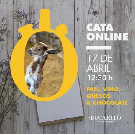 CATA ONLINE - Pan, vino, quesos & chocolate
