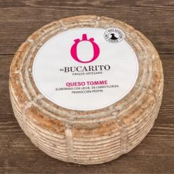 Tomme El Bucarito de leche cruda